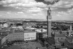 Campo Square in Siena, Italy Stock Image
