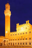 Campo Square in Siena Royalty Free Stock Image