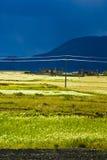 Campo tibetano fotos de stock royalty free