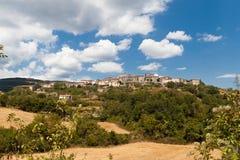 Campo toscano Imagenes de archivo