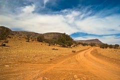 Campo a través en Marruecos Imágenes de archivo libres de regalías