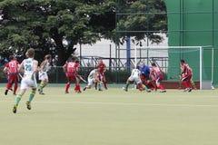 Campo U.S.A. dell'hockey contro il Sudafrica Immagine Stock