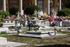 Campo Verano cemetery Royalty Free Stock Photos
