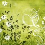 Campo verde Stock de ilustración
