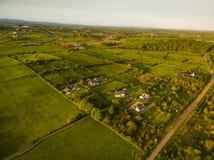 Campo verde de Irlanda fotos de archivo libres de regalías