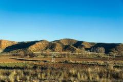 Campo y granja en España Foto de archivo libre de regalías