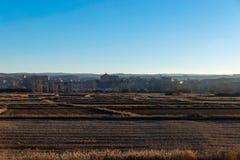 Campo y granja en España Foto de archivo