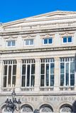 Campoamor theatre w Oviedo, Asturias, Hiszpania obraz royalty free