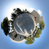 Campobasso church 360 Stock Image
