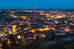 Campobasso light Royalty Free Stock Image