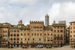 campodelitaly piazza siena Royaltyfri Fotografi