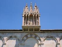 Campoen Santo, Pisa, Italien Arkivbild