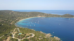 Campomoro Bay, Corsica Stock Images