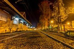 Campos κάνει Jordão, Βραζιλία Όψη πόλεων τη νύχτα Στοκ εικόνες με δικαίωμα ελεύθερης χρήσης