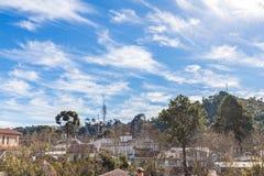Campos κάνει Jordao, άποψη πόλεων της Βραζιλίας Στοκ Εικόνα