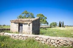 Campos coloreados de Mallorca Foto de archivo