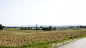 Campos cultivados Fotos de Stock