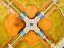 Campos de basebol Imagens de Stock Royalty Free