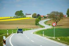 Campos de Baviera Imagem de Stock Royalty Free