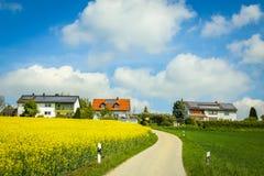Campos de Baviera Imagen de archivo