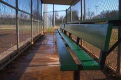 Campos de beísbol con pelota blanda Fotos de archivo libres de regalías