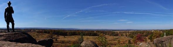 Campos de Gettysburg fotografia de stock royalty free