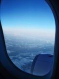 Campos de Hielo del aire Imagen de archivo