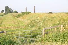 Campos de Kent del prado Imagen de archivo