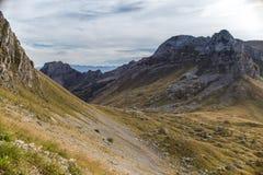 Campos de la montaña Imagenes de archivo
