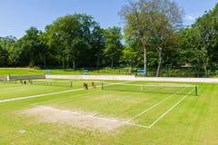 Campos de tênis Fotos de Stock