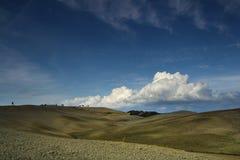 Campos de Toscana en otoño Fotos de archivo