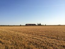 Campos del granjero Imágenes de archivo libres de regalías