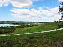 Campos do aipo de Sarasota, parque da cidade imagens de stock royalty free