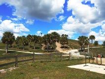 Campos do aipo de Sarasota, parque da cidade imagem de stock