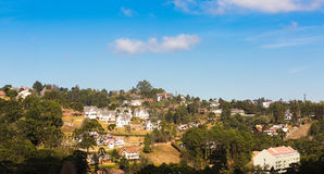 Campos do Jordao, Brazil. Country houses in Campos do Jordao, Sao Paulo State, Brazil Stock Image
