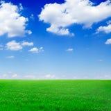 Campos e nuvens fotos de stock royalty free