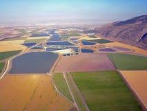 Campos en el valle de Jezreel, Israel fotografía de archivo libre de regalías