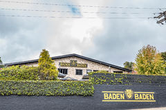 CAMPOS GÖR JORDAO, BRASILIEN - JULI 03, 2017: Baden Baden Brewery Royaltyfri Foto