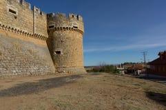 campos grajal leon Ισπανία κάστρων de Στοκ Φωτογραφία