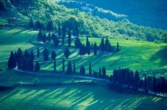Campos italianos foto de stock royalty free