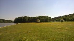 campos verdes Imágenes de archivo libres de regalías