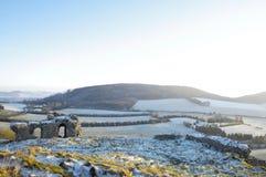 Campos verdes de Ireland Fotografia de Stock Royalty Free