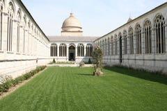 Camposanto在比萨 库存照片