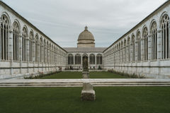 Camposanto Monumentale in Pisa, italy. royalty free stock photography