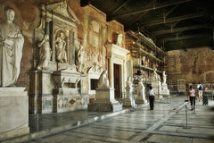 Camposanto. Pisa, Italië royalty-vrije stock afbeelding