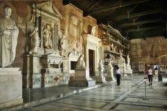 Camposantoen. Pisa Italien Royaltyfri Bild