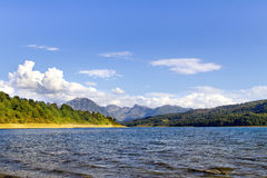 Campotosto Lake Stock Photo