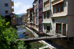 Camprodon town called small Gerona Royalty Free Stock Photo