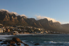 Camps Bay. Cape Town, South Africa Stock Photo