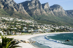 Camps Bay and the 12 Apostles, South Africa Stock Images